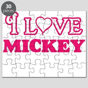 I Love Mickey Puzzle