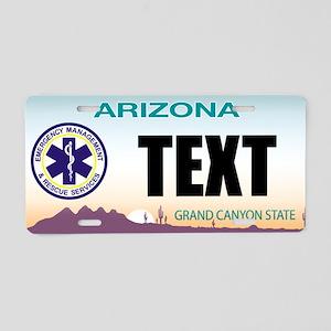 Arizona EMS Custom License Plate