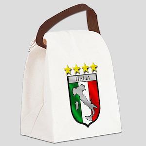 Italia Shield Canvas Lunch Bag