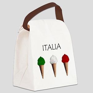 Gelati Italiani Canvas Lunch Bag