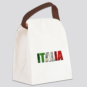 Italia Logo Canvas Lunch Bag