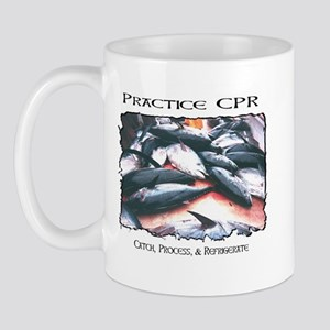 Mug with Practice CPR & Ahi