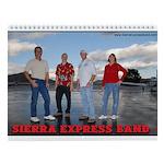 Sierra Express Band Wall Calendar