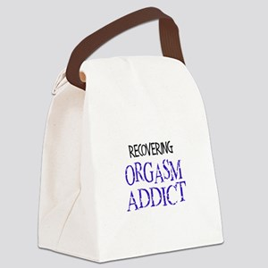 Recovering Orgasm Addict Canvas Lunch Bag