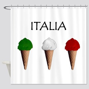 Gelati Italiani Shower Curtain