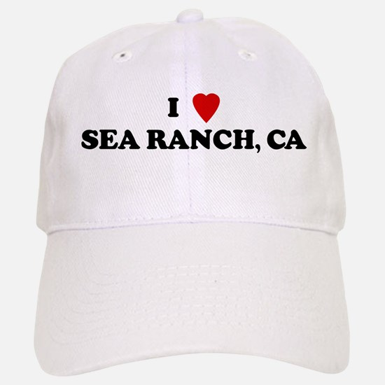I Love SEA RANCH Baseball Baseball Cap