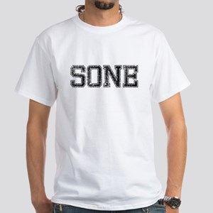 SONE, Vintage White T-Shirt