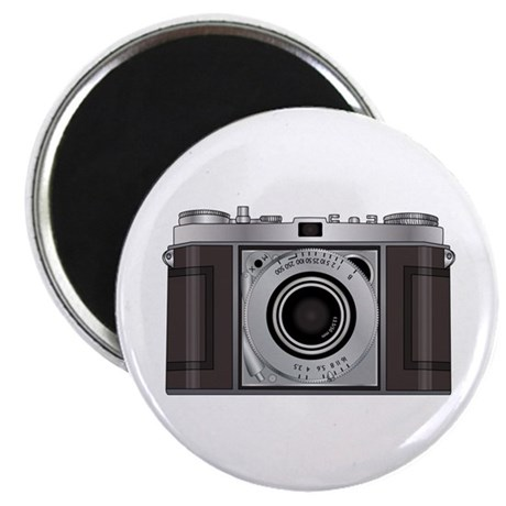 "Retro Camera 2.25"" Magnet (100 pack)"