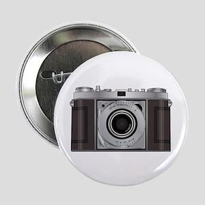 """Retro Camera 2.25"""" Button"""