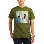 Prostate Exam Organic Men's T-Shirt (dark)