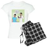 Prostate Exam Women's Light Pajamas