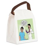 Prostate Exam Canvas Lunch Bag