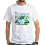 Swimming White T-Shirt