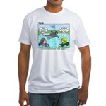 Swimming Fitted T-Shirt