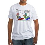 Snow Bored Fitted T-Shirt
