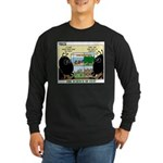 Insect Study Long Sleeve Dark T-Shirt