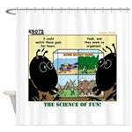 Insect Study Shower Curtain