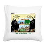 Insect Study Square Canvas Pillow