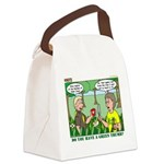 Garden of Eden Canvas Lunch Bag