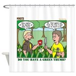 Garden of Eden Shower Curtain