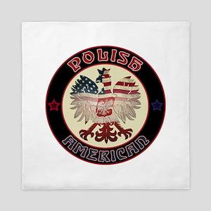 Polish American Eagle Queen Duvet