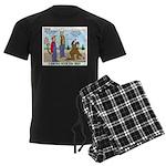 Daniel Boone Men's Dark Pajamas