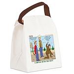 Daniel Boone Canvas Lunch Bag