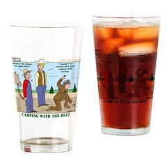 Daniel Boone Drinking Glass