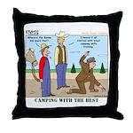 Daniel Boone Throw Pillow