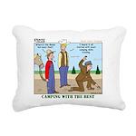 Daniel Boone Rectangular Canvas Pillow