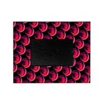 Red Black OMG Abstract Picture Frame