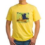 Bird Study Yellow T-Shirt