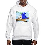 Bird Study Hooded Sweatshirt