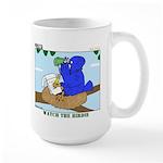 Bird Study Large Mug