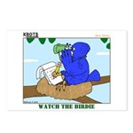 Bird Study Postcards (Package of 8)