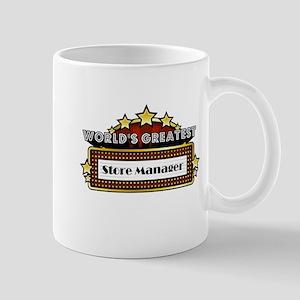 World's Greatest Store Manager Mug