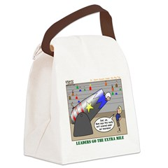 Big Top Canvas Lunch Bag