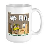 Caving Large Mug
