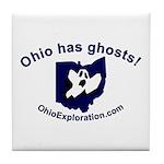 Got Ghosts Tile Coaster