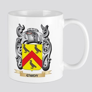 Cardy Family Crest - Cardy Coat of Arms Mugs