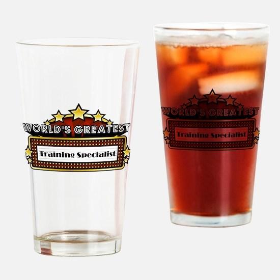 World's Greatest Training Specialist Drinking Glas