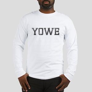 YOWE, Vintage Long Sleeve T-Shirt