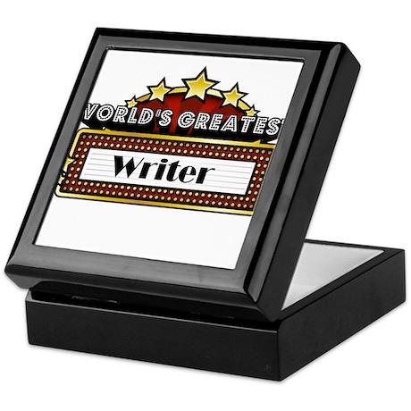 World's Greatest Writer Keepsake Box