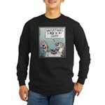A Fly in my Soup! Long Sleeve Dark T-Shirt