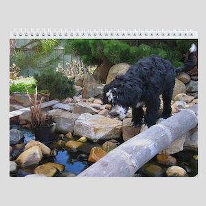 PWD - Portuguese Water Dog Wall Calendar