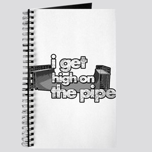 I GET HIGH ON THE PIPE Journal