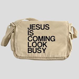 Jesus Is Coming, Look Busy Messenger Bag