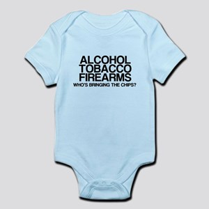 ATF, Whos Bringing The Chips? Infant Bodysuit