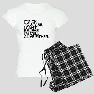 Old, OK To Stare, Funny Women's Light Pajamas