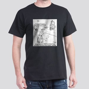 Columbus Cartoon 1333 Dark T-Shirt